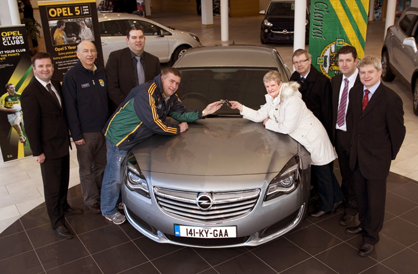 Kerry Gaa Raffled Opel Insignia Goes To Gneeveguilla The Maine Valley Post