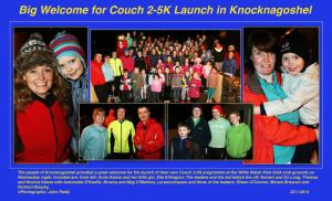 Couch 2-5K Launch in Knocknagoshel 22-1-2014