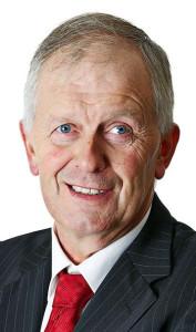 Cllr. Brendan Cronin - announcing road improvement grants for 2014.