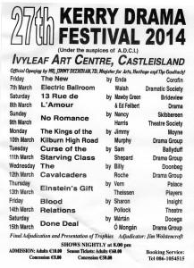 Kerry Drama Festival 2014