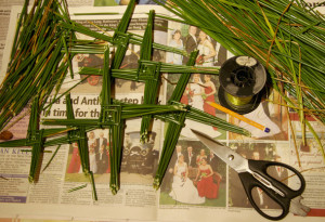 The original Rush job: The tradition of making St. Brigid's Crosses is still widely practised in many parts of Ireland today. ©Photograph: John Reidy