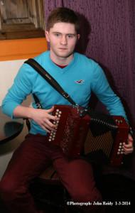 Bryan O'Leary at Browne's Bar 1-3-2014