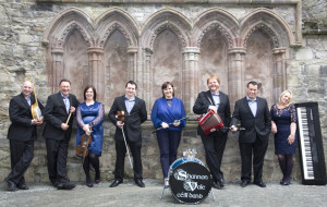 Members of the Shannon Vale Céilí Band who will launch their debut CD in The Listowel Arms Hotel on Saturday night at 8pm. Included are: Brothers,Michael and John Collins, Sheila Garry, Colm Kissane, Marianne Browne, Danny O'Mahony, band leader; Joe O'Sullivan and Patsy Broderick.
