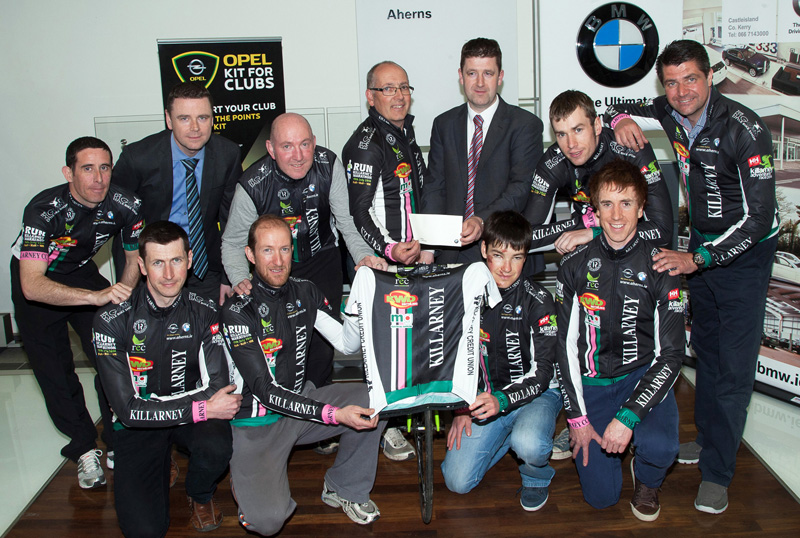 History Behind Ahern S Bmw Opel Kerry R 193 S Team The Maine Valley Post