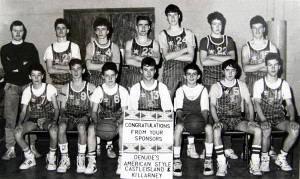 This week's Friday Favourite is the St. Mary's Basketball Club U-17 team which won the 1988/89 County League title. How many of the team can you name. Full caption and story of their success after the weekend.  ©Photograph: John Reidy  18-2-1989