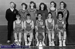 St. Mary's Senior Ladies Basketball Team 27-2-1991
