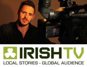 John McCarthy, presenter of Kerry County Matters on IrishTV. Kerry County Matters will air each Wednesday at 7.30pm.