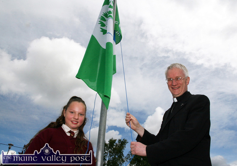 All Green and Exciting for Bishop Ray's Visit