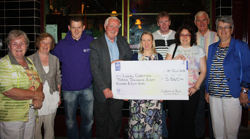 Races Charity Donations Reach €113,000