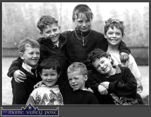 Can you put names to the 'Boys at Play in St. John's Park in 1995,' ©Photograph: John Reidy  7-4-1995
