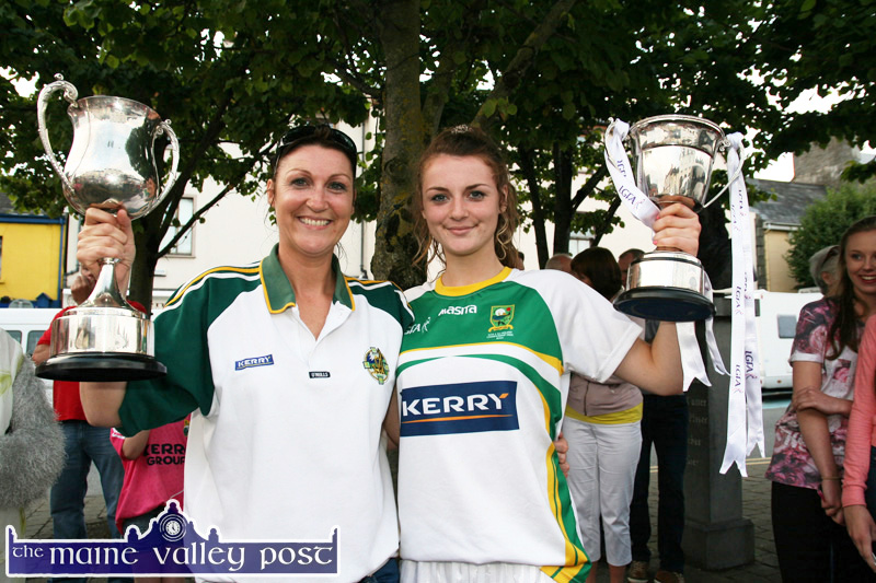 Well Deserved Welcome for Kerry's U-14 Heroines