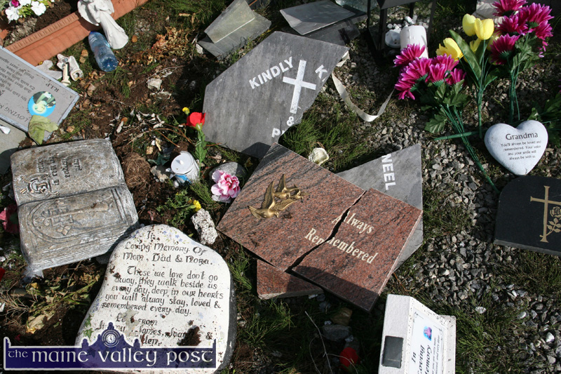 Locals Upset at Attacks on Family Graves