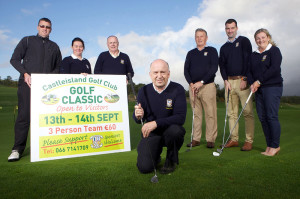 Launching the Castleisland Golf Club Classic at the course in Tulligubeen on friday evening were: Liam Martin, Mairead Guirey, Donal De Barra, John O'Connell(Captain), John Manton, Daniel O'Shea and Margaret Molony. Photograph: JDM Photography