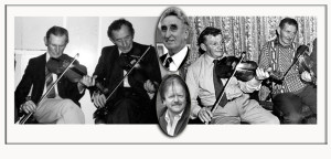 The second in the Handed Down series will recall the lives and musical times of from left: Paddy 'Patcheen' O'Connell and Jerry McCarthy, Terry 'Cuz' Teahan (top centre) and Mike Kenny with Jerh Collins and Willie O'Connell. ©www.mainevalleypost.com