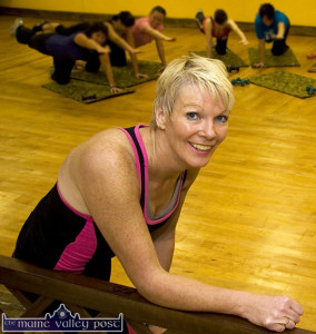 Fitness instructor, Maggie Large has just launched her ML Fitness Autumn / Winter Programme throughout North Kerry and West Limerick at a venue near you. ©Photograph: John Reidy