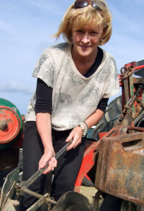 Marie Walsh setting a course to Co. Laois for her planned coach-trip to the ploughing championships.