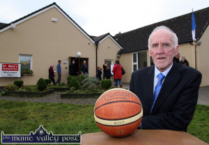 Tournament director and founder, Dónal O'Connor just issued invitations to players and teams intending to take part in the 45th annual Christmas Basketball Blitz in Castleisland. ©Photograph:  John Reidy