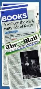Breda Joy's just published, Hidden Kerry - The Keys to The Kingdom in its 'Four Star' review in The Irish Mail in Sunday.