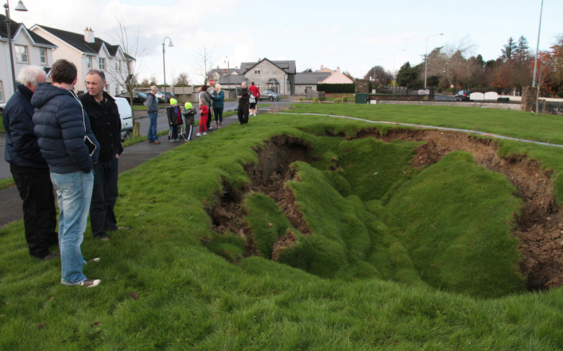 Green Collapse Highlights Ongoing Estate Problems