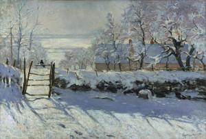 Claude_Monet - The Magpie.