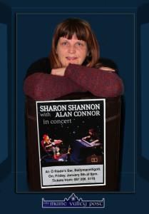 Mary Jones - bringing Sharon Shannon to Ballymacelligott on January 9th and offering  unique Christmas gift ideas. ©Photograph:  John Reidy