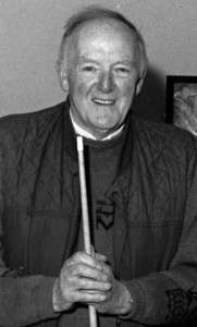 The late Seán WH O'Connor pictured before a Snooker match at the Pitch and Putt and Snooker Club in May 1995. Photograph: John Reidy 12-5-1995