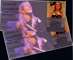 Laura Dowling is the winner of the pair of tickets for the Sharon Shannon concert. While Mary Fleming wins the CD A Murray Christmas.