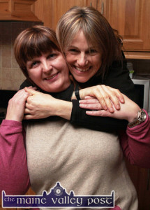 Great Friends: Mary Jones and Sharon Shannon before the concert at O'Riada's on January 9th. ©Photograph: John Reidy