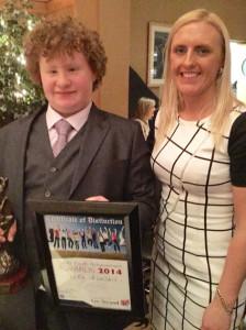 Luke Scollard Garda Achievement Award 16-1-2015