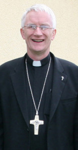 Bishop Ray Browne is returning to Castleisland on Monday night after an extremely busy Confirmation day on Friday. ©Photograph: John Reidy 5-6-2014