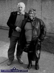 John and Maureen Prendiville pictured at St. John's Park in Castleisland. Photograph: John Reidy  24-2-2003