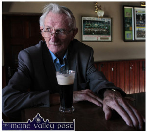 Johnny Cahill - recalled the excitement caused by the visit by Eamonn de Valera prior to a by-election in 1956. ©Photograph: John Reidy
