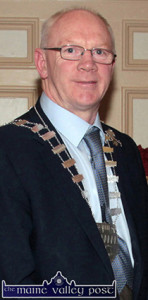 Mayor of Kerry Cllr. John Brassil who was selected as Fianna Fail's candidate for Kerry at last night's convention. ©Photograph:  John Reidy
