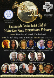 The Strictly Come Dancing poster with all the promise of a great night's entertainment.