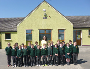 Áine Daly revisits the school next door where she was a pupil only a few short years ago.