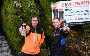 John Lenihan and Joe O'Connor at the launch of B Wildered sponsored by Lee Strand Protein+ Milk. B Wildered Kerry's unique fitness challenge will take place on Saturday, May 2nd, in Glanageenty, Ballymacelligott at 11am. Photograph: Domnick Walsh / Eye Focus LTD ©