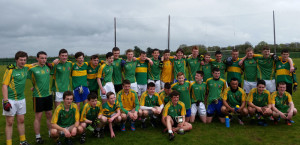 The victorious St. Patrick's Secondary School U16 ½ Munster team that won the Munster Colleges Bobby Buckley Cup defeating Mitchelstown CBS at Mick Neville Park, Rathkeale. Photograph Courtesy of St. Patrick's