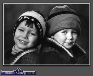 Happy Birthday to Robbie & Katie Walsh. ©Photograph: John Reidy 20-1-1993