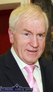 """Minister Jimmy Deenihan, TD: """"Visual and performing artists, writers and musicians have so often taken inspiration from the great Kerry players."""""""