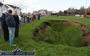 Cahereen Heights Lawn Collapse 22-11-2014