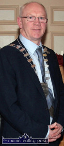 Cathaoirleach of Kerry County Council Cllr. John Brassil will launch the new collection at Castleisland Library on Wednesday.  ©Photograph:  John Reidy