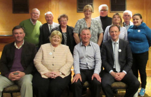 At the Kerry Labour Party AGM were front: Cllr. Graham Spring, Senator Marie Moloney, Cllr. Dan Galvin and Arthur Spring, TD. Back row: Gene Moriarty, Tony Carroll, Eileen Mayse, Fionnuala Sarsfield, Dan Kiely, Gillian Wharton Slattery, Sean McCarthy, Gemma Lougheed.