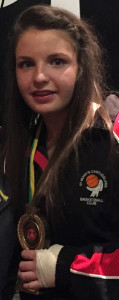 Shauna Ahern has just been named as Basket Ireland's U-14 Player-of-the-Year