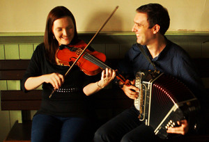 Aoife and Paudie: They're having their Castleisland launch at Browne's Bar on Friday night from