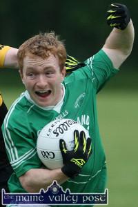 St. Kieran's prolific scorer, Thomas Hickey. ©Photograph: John Reidy