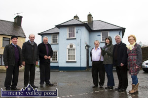Shatter-ed: Members of Brosna Community Alert pictured outside their now abandoned garda station in 2013. Included are: Timmy O'Sullivan, Leo O'Connor, Liam Curtin, Joe Browne, Kathleen Corridon, Den Joe O'Connor and Joan Carmody. ©Photograph:  John Reidy 5-2-2013
