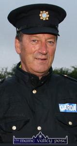 Sgt. John O'Mahony founder of the tournament in 2003. ©Photograph: John Reidy