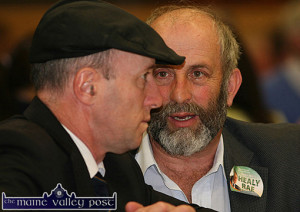 Michael Healy Rae, TD Cllr. Danny Healy Rae are listening to the 'real concerns' of local transport providers. ©Photograph: John Reidy