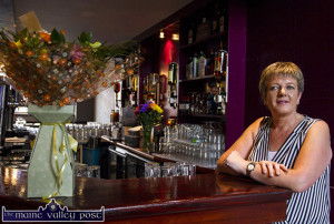 Betty O'Connell, fulfilled a dream when she opened the doors of Kearney's Bar in Castleisland this evening at 5pm. ©Photograph: John Reidy