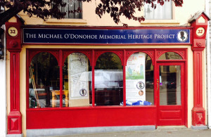 No. 32 Lower Main Street, Castleisland - which will house the Michael O'Donohoe Memorial Heritage Project in conjunstion with National Heritage Week. ©Photograph: John Reidy